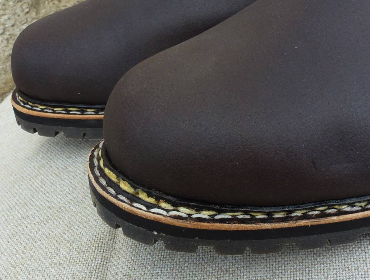 Größe 44 Jagdstiefel Klassik Branding AW mit kleinem Schönheitsfehler